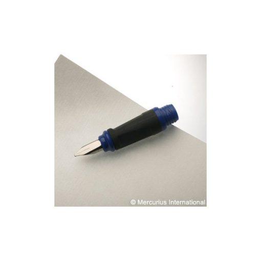 Töltőtoll-fej, kék, 1,5 mm - Mercurius