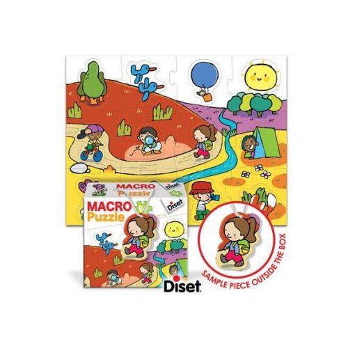 Óriás puzzle, természetben - DISET DS69167