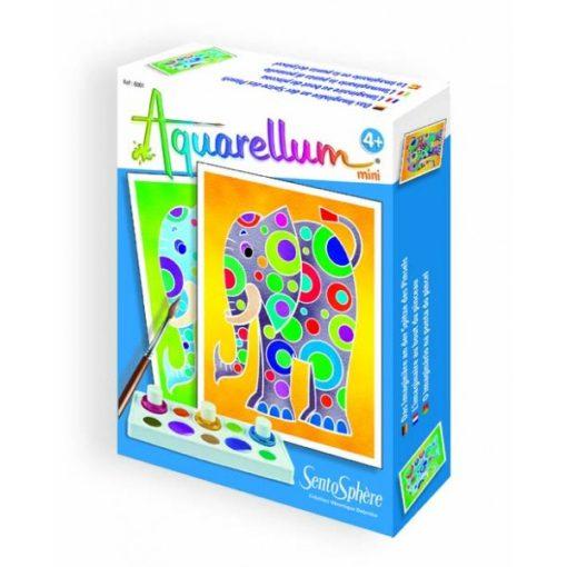 Aquarell mini, elefánt - Sentosphere SA6001