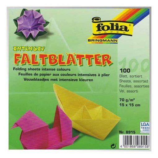Origami papír 15 x 15 cm, 100 ív