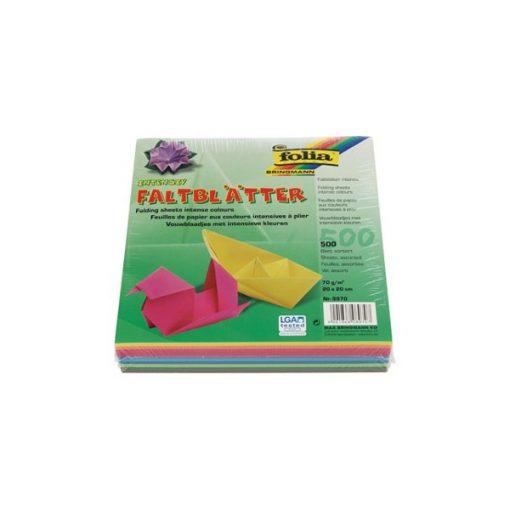 Origami papír 20 x 20 cm, 500 ív