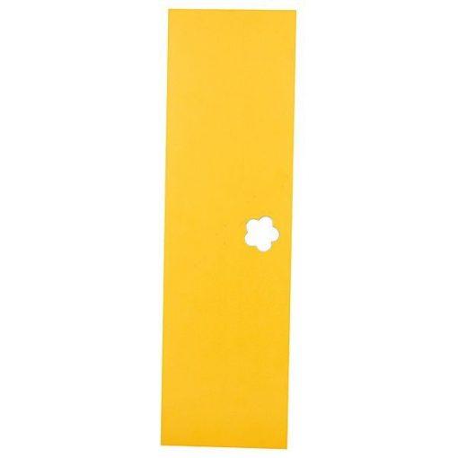 Óvodai öltözőszekrényhez ajtó, citromsárga - MB100 057