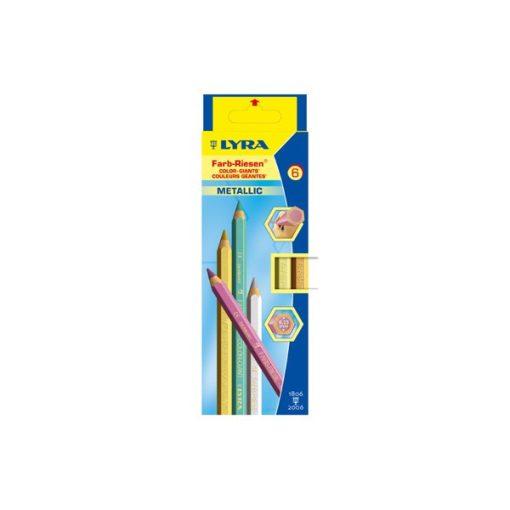 LYRA Super Ferby metál, 6 színű lakkozott ceruzakészlet