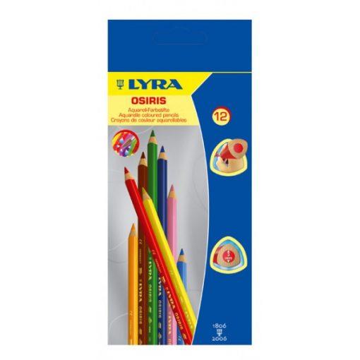LYRA Aquarell ceruza 12 színű Osiris            wawa