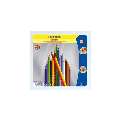 LYRA Aquarell ceruza 24 színű Osiris
