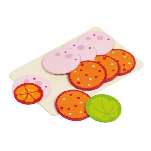 Szeletelt szalámi, saláta, paradicsom, GOKI GK51810