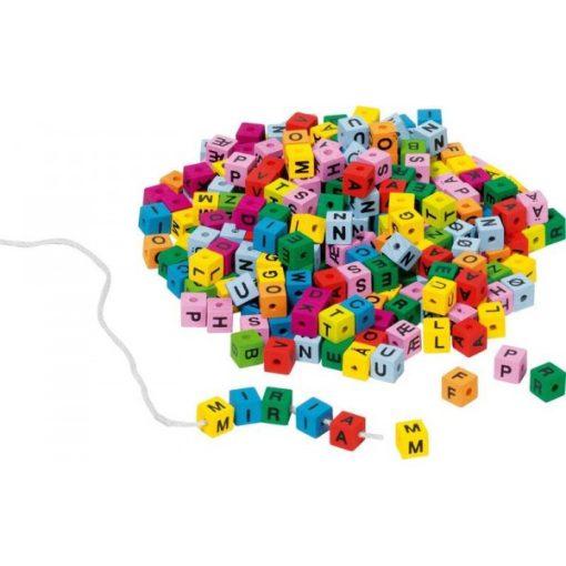 Fűzhető színes betűk (ABC), GOKI GK58908