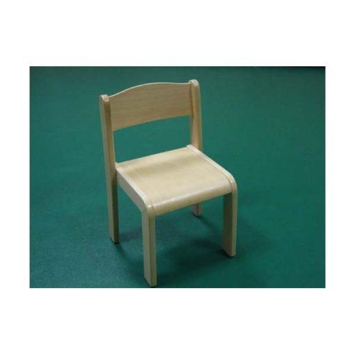 Támlás szék 36 cm ÚJ bükk rakatolható