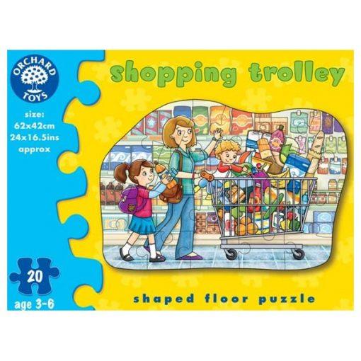 Bevásárlás óriás puzzle (Shopping trolley), ORCHARD TOYS OR231