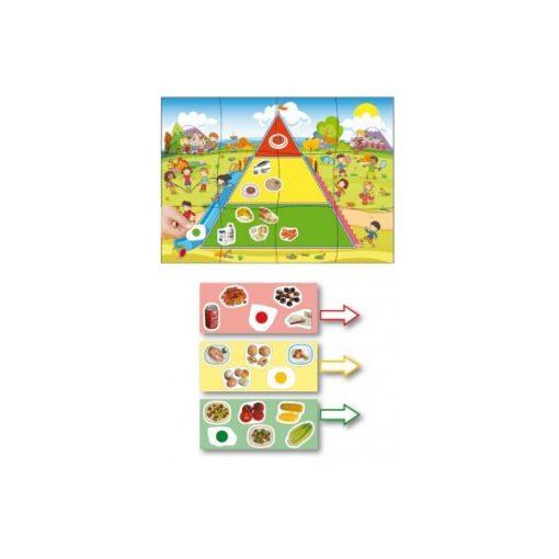 Piramisépítő - egészséges ételek, Akros, AKR30957