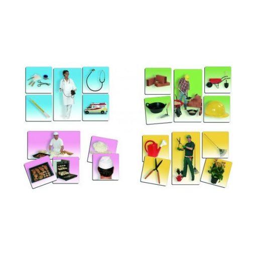 Képkártyák - Foglalkozások, Akros, AKR20560