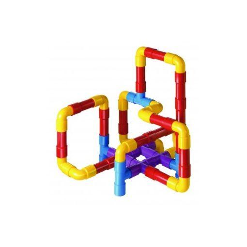 Építőkészlet - csövek, Quercetti, QR4175