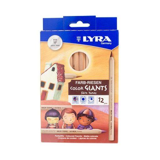 LYRA Color-Giants bőrszínek, 12 színű