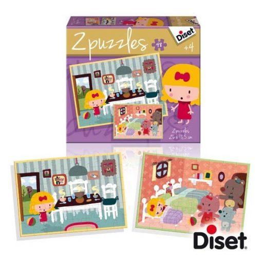 Mesepuzzle, Kata és a Medvék - DISET DS69964