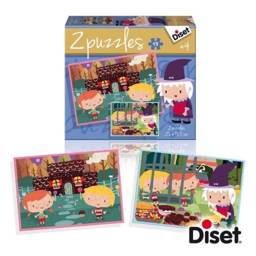 Mesepuzzle, Jancsi és Juliska - DISET DS69963