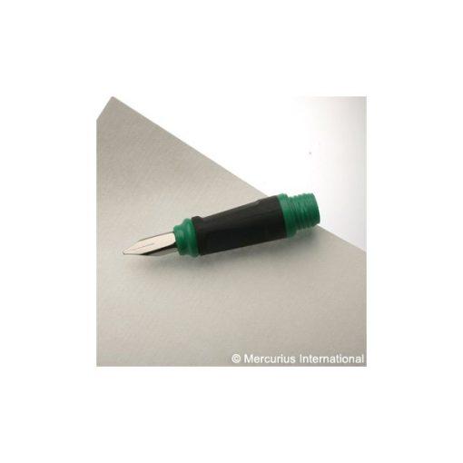 Töltőtoll-fej, zöld, 1,1 mm - Mercurius