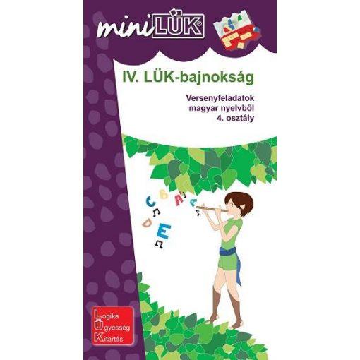 IV. Bajnokság, 4. o. nyelvtan, Mini - LÜK LDI521