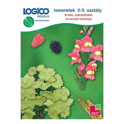 Ismeretek: 2-3. osztály, erdők, szántóföldek és kertek növényei - LOGICO Piccolo
