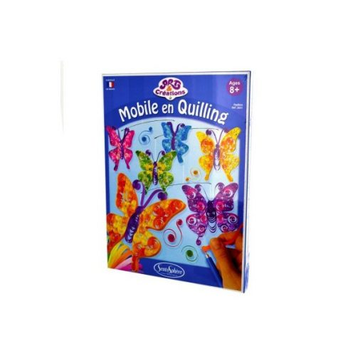 Papírdísz pillangók, kreatív szett - Sentosphere SA2051