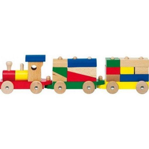 Vonat kocka-felhalmozóval, RÓMA - GOKI GKWP304