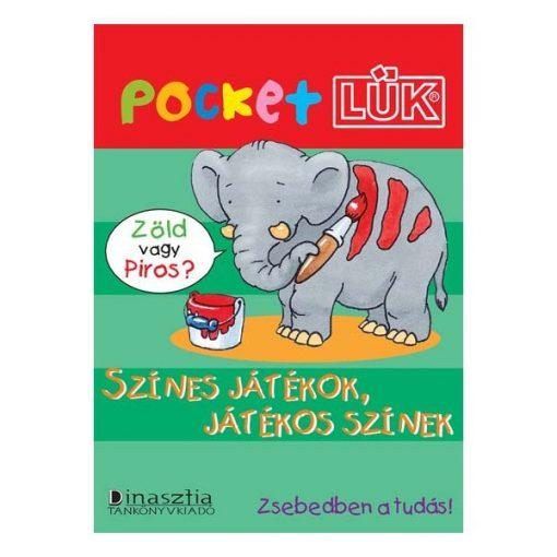 Színes játékok füzet + alaplap, Pocket - LÜK LDI902/A