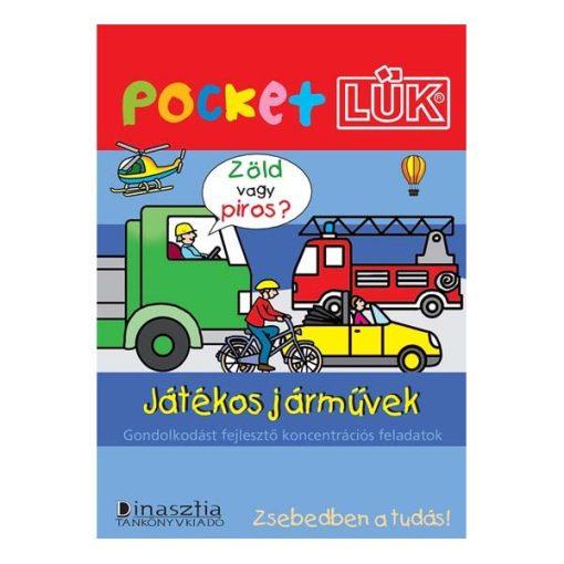 Játékos járművek füzet + alaplap, Pocket - LÜK LDI906/A