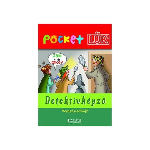 Detektívképző füzet + alaplap, Pocket - LÜK LDI909/A
