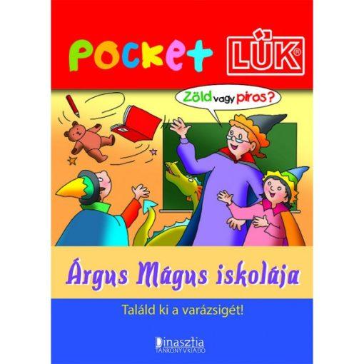 Árgus Mágus iskolája füzet + alaplap, Pocket - LÜK LDI910/A