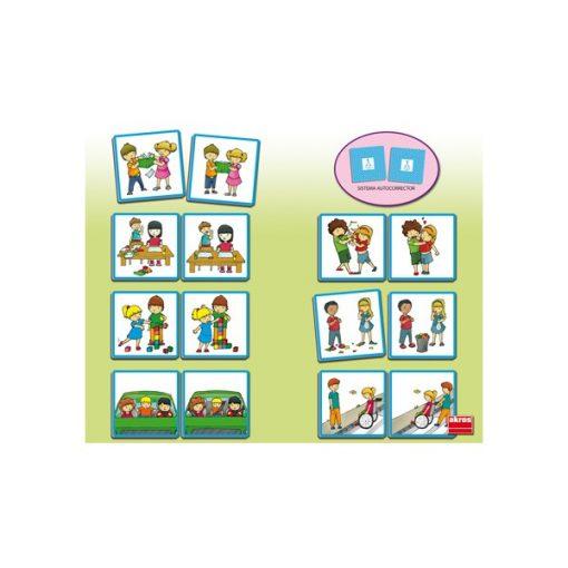 Képkártyák - Iskolában, Akros, AKR20801