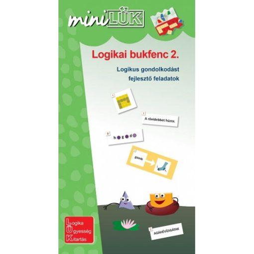 Logikai bukfenc 2., 3-4. osztály, Mini - LÜK LDI539