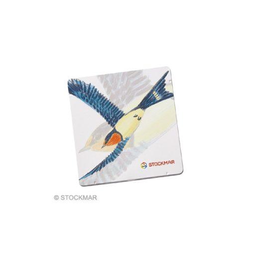 Fecskés fémdoboz háromszögletű Stockmar ceruzákhoz