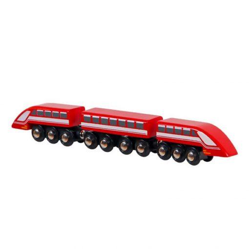 Vonat, mágneses, 1 vagon + 2 mozdony
