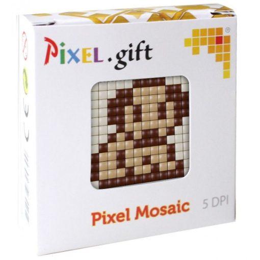 Mini Pixel XL szett - Kutyus (6x6cm alaplap, 3 szín)