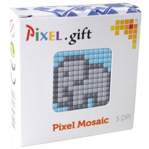Mini Pixel XL szett - Elefánt (6x6cm alaplap, 3 szín)