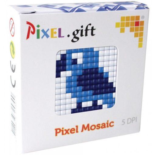 Mini Pixel XL szett - Papagáj (6x6cm alaplap, 3 szín)