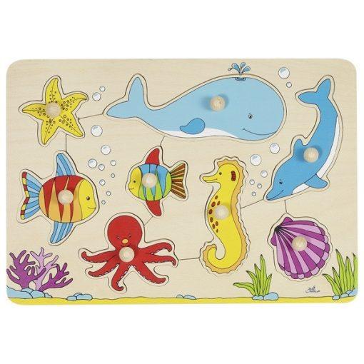 Fogós puzzle - tenger GOKI GK57953