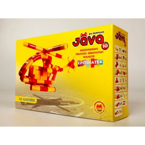Java 10 készlet Helikopter