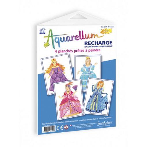 Pótlapok, Aquarellum képekhez, hercegnők - Sentosphere SA665 R