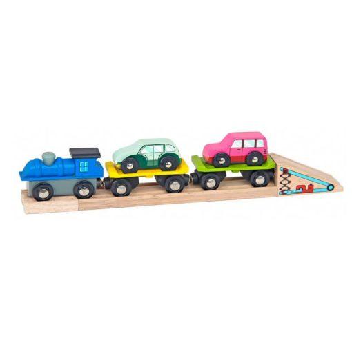 Vonat autószállító