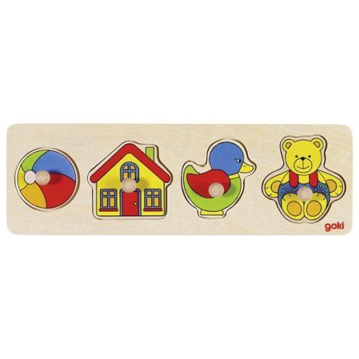 Fogós puzzle, GOKI GK57998