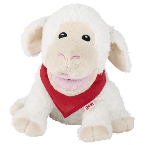 Kesztyűbáb, bárány, 23 cm, bélelt - GOKI GK51781