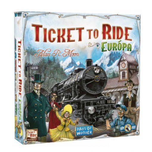 Ticket to Ride Európa Vasúti kalandok társasjáték