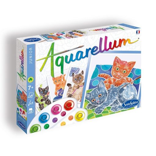 Aquarellum, kölyök cicák - Sentosphere SA6506