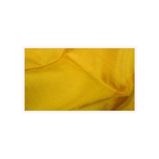 Selyemkendő szegett 90x90 cm, aranysárga     wawa      22 g/m2