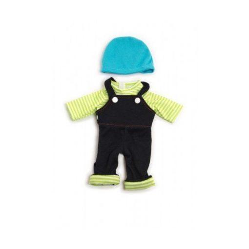 Babaruha - nadrág, póló, sapka 32 cm-es babához, MINILAND, ML31645