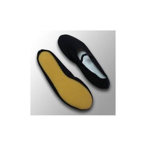 Euritmia cipő, 50-es, fekete, NAGY MÉRET