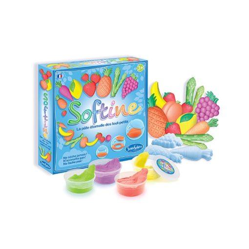 Softine gyurma, gyümölcs és zöldség - Sentosphere SA8751