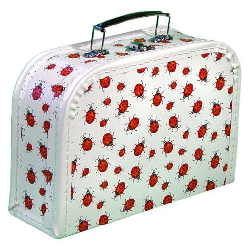 Katicás bőrönd, 24,5 x 17 x 8,5 cm