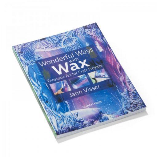 Encaustic könyv 'Wonderful Ways with Wax' angol