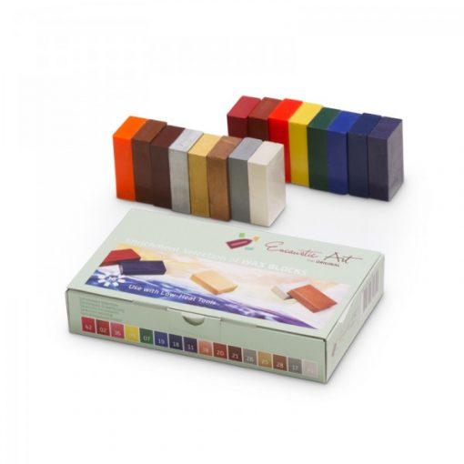 Encaustic viaszkréta készlet, bővítő színek, 16 db-os